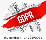 gdpr   general data protection...   Shutterstock .eps vector #1426190036
