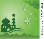 religion background design ... | Shutterstock .eps vector #1426217873