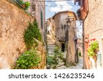 charming  medieval town of... | Shutterstock . vector #1426235246