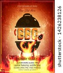 barbecue party vector flyer or...   Shutterstock .eps vector #1426238126
