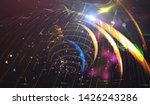 explosion of stars in space....   Shutterstock . vector #1426243286