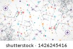 cover template for science and...   Shutterstock .eps vector #1426245416