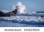 Waves Crash On Pfeiffer Beach...