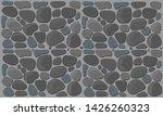 black brick wall  black gray...   Shutterstock .eps vector #1426260323