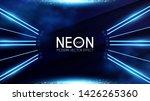 magic neon light effect. motion ... | Shutterstock .eps vector #1426265360