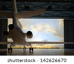 The  Passenger Aircraft In The...