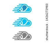 technology cloud app logo design   Shutterstock .eps vector #1426272983