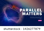 the future of parallel metters...   Shutterstock .eps vector #1426277879