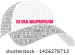 cultural misappropriation word... | Shutterstock .eps vector #1426278713
