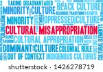 cultural misappropriation word... | Shutterstock .eps vector #1426278719