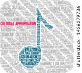 cultural appropriation word... | Shutterstock .eps vector #1426279736