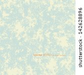 vector retro grunge blue... | Shutterstock .eps vector #142628896