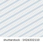 black and white vector endless... | Shutterstock .eps vector #1426332110