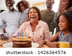 multi generation family... | Shutterstock . vector #1426364576