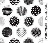 template seamless abstract... | Shutterstock .eps vector #1426373003