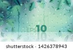 green nature background with... | Shutterstock .eps vector #1426378943