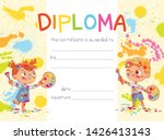 template of children award... | Shutterstock .eps vector #1426413143