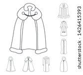 vector design of robe and... | Shutterstock .eps vector #1426415393