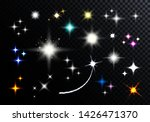 set of sparkling and twinkling... | Shutterstock .eps vector #1426471370