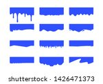 vector set of template dividers ...