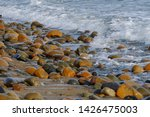 Colorful Round River Rocks...