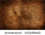 old dark brown wooden... | Shutterstock . vector #142648660