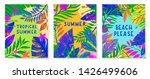 set of summer vector... | Shutterstock .eps vector #1426499606
