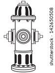 Fire Hydrant. Symbol