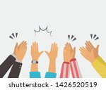 clapping hands applause vector... | Shutterstock .eps vector #1426520519