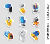 icons for media and... | Shutterstock . vector #142652560