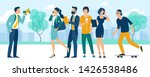 social media promotion and ad... | Shutterstock .eps vector #1426538486