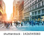 crowds of people in motion...   Shutterstock . vector #1426545083