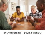 Retired multiethnic people...