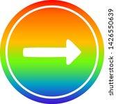 pointing arrow circular icon... | Shutterstock .eps vector #1426550639