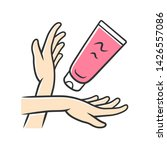moisturizing hand cream ... | Shutterstock .eps vector #1426557086