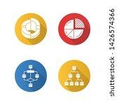 diagrams flat design long... | Shutterstock .eps vector #1426574366
