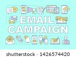 email campaign word concepts... | Shutterstock .eps vector #1426574420