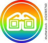 square glasses circular icon... | Shutterstock .eps vector #1426585760