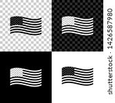 american flag icon isolated on... | Shutterstock .eps vector #1426587980