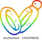 rainbow gradient line drawing... | Shutterstock .eps vector #1426598636