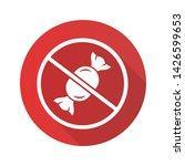 sugar free product flat design... | Shutterstock .eps vector #1426599653