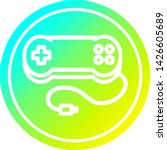 console game controller... | Shutterstock .eps vector #1426605689