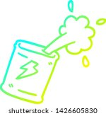 cold gradient line drawing of a ... | Shutterstock .eps vector #1426605830