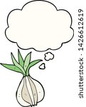 cartoon onion with thought...   Shutterstock .eps vector #1426612619