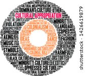 cultural appropriation word... | Shutterstock .eps vector #1426619879