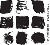vector dry brush stroke grunge. ... | Shutterstock .eps vector #1426624679