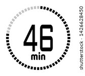 the 46 minutes countdown timer...