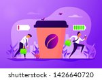 depressed office worker  stress ... | Shutterstock .eps vector #1426640720