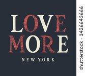 typography t shirt design.... | Shutterstock .eps vector #1426643666