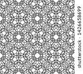 design seamless monochrome... | Shutterstock .eps vector #1426658699